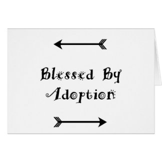 Blessed by Adoption - Foster Care Card