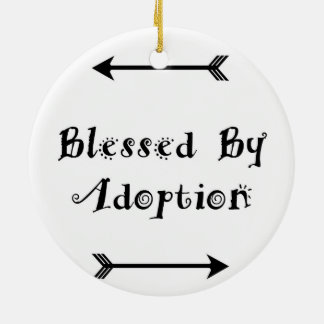 Blessed by Adoption - Foster Care Ceramic Ornament
