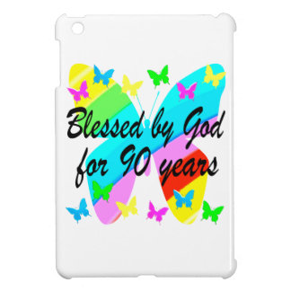 BLESSED BY GOD FOR 90 YEARS COVER FOR THE iPad MINI