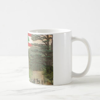Blessed by Lebanon mug