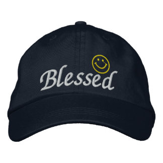 Blessed Cap Embroidered Baseball Caps