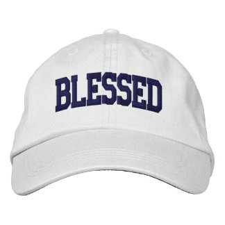 Blessed - Cap Embroidered Hat