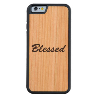 Blessed Carved Cherry iPhone 6 Bumper Case