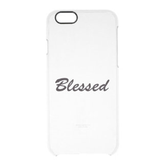 Blessed Clear iPhone 6/6S Case