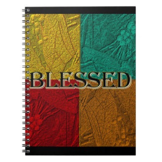 Blessed Colorblock notebook