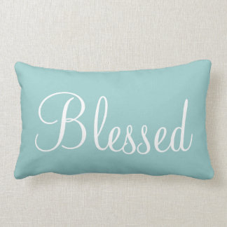 Blessed Decorative Bedroom Accent Pillow