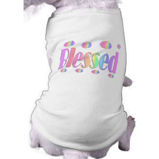 blessed doggie tee shirt