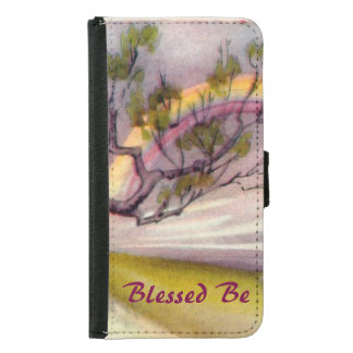 Blessed Father Samsung Galaxy S5 Wallet Case