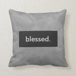 blessed. Full Print Customizable Throw Pillow