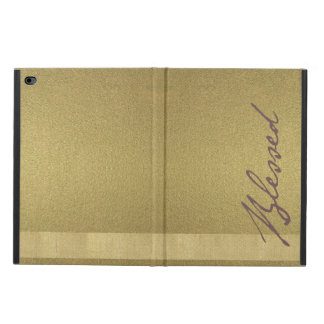 Blessed Gold iPad Case