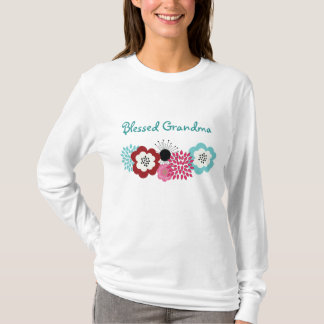Blessed Grandma - Personalize the text T-Shirt