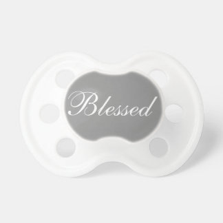 Blessed Grey 0-6 months BooginHead® Pacifier