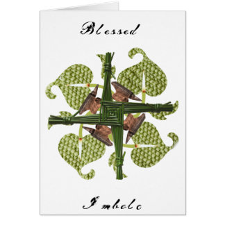 Blessed Imbolc Card