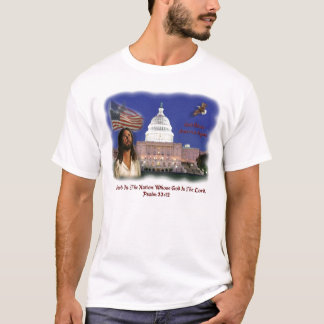 Blessed Is The Nation Whose God Is The Lord T-Shirt