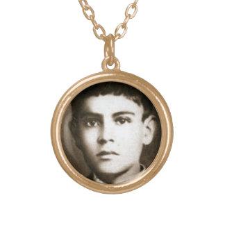 Blessed Jose Sanchez Del Rio Gold Plated Necklace