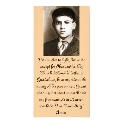 Blessed Jose Sanchez Prayer Cards Custom Photo Card