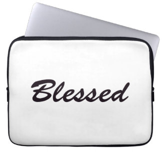 Blessed Laptop Sleeve