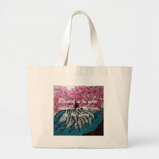 Blessed Large Tote Bag