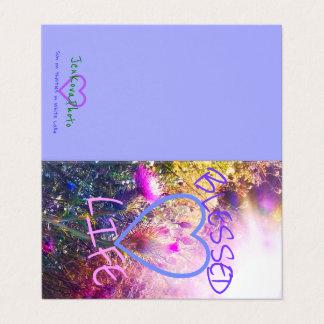 BLESSED LIFE 2x3.5 MINI CARD