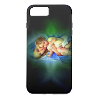 Blessed Light of Virgin Mary and Infant Jesus iPhone 7 Plus Case