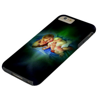 Blessed Light of Virgin Mary and Infant Jesus Tough iPhone 6 Plus Case