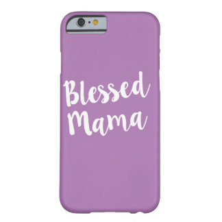 Blessed Mama phone case
