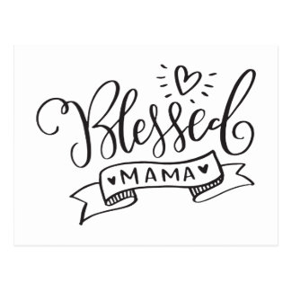 Blessed Mama Postcard