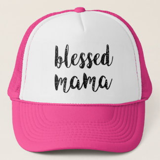 Blessed Mama women's mom hat
