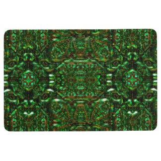 """Blessed"" Mandala Floormat Floor Mat"