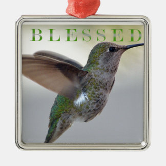 Blessed Metal Ornament