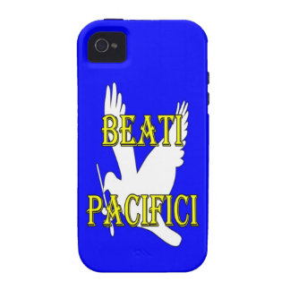 blessed peacemakers white dove phone iPhone 4 cover