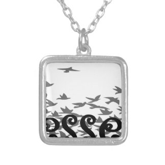 Blessed Silver Plated Necklace