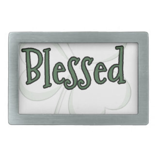 Blessed St. Patrick's Day Design Belt Buckle