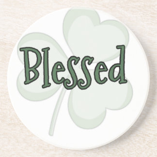 Blessed St. Patrick's Day Design Coaster