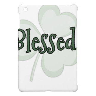 Blessed St. Patrick's Day Design iPad Mini Cover