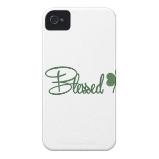 Blessed St. Patrick's Day Design ☘ iPhone 4 Cover