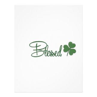 Blessed St. Patrick's Day Design ☘ Letterhead