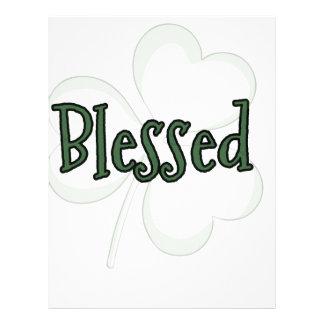 Blessed St. Patrick's Day Design Letterhead