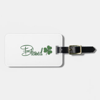 Blessed St. Patrick's Day Design ☘ Luggage Tag