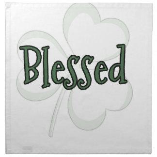 Blessed St. Patrick's Day Design Napkin