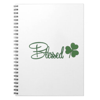 Blessed St. Patrick's Day Design ☘ Notebook