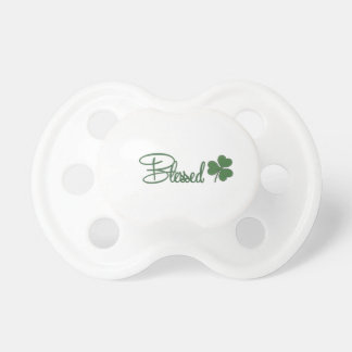 Blessed St. Patrick's Day Design ☘ Pacifier