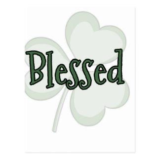 Blessed St. Patrick's Day Design Postcard