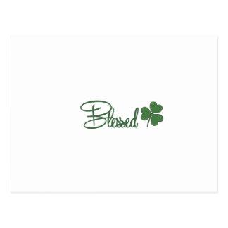 Blessed St. Patrick's Day Design ☘ Postcard