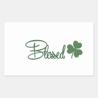 Blessed St. Patrick's Day Design ☘ Sticker