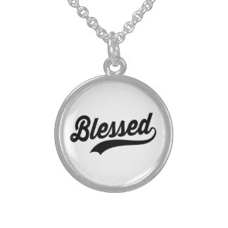 Blessed Sterling Silver Necklace