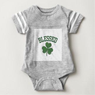 BLESSED Varcity Design Baby Bodysuit