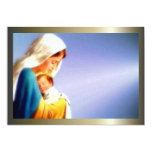 "Blessed Virgin Mary and Infant Child Jesus 5"" X 7"" Invitation Card"