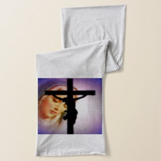 Blessed Virgin Mary and the Cross Scarf