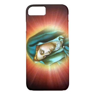 Blessed Virgin Mary  - Light Shine Upon You iPhone 7 Case